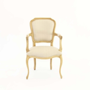 French Country Armed Chair Front