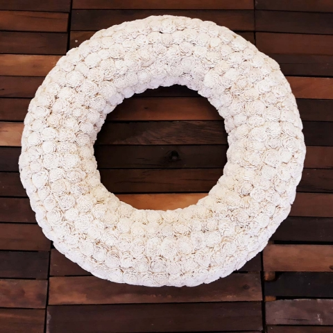 "31"" Hope wreath full view"