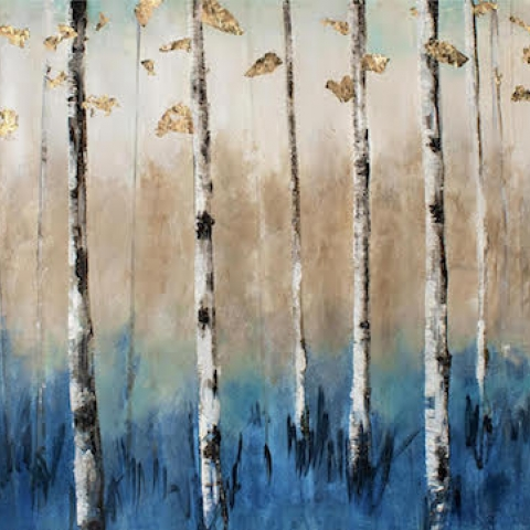 Birch Tree Horizontal