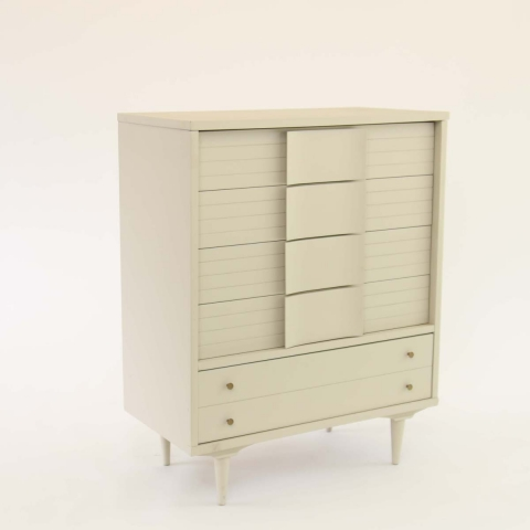 MCM Chest of Drawers Side